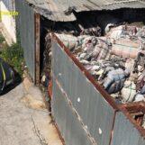 Rifiuti, 12mila tonnellate abbandonate in capannoni. Sgominata la banda