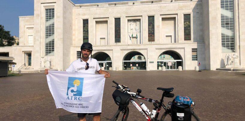 In bicicletta contro il cancro. Marco da Milano a Padula passando per l'Irpinia