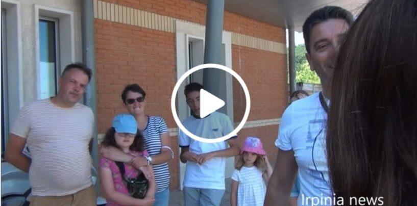 VIDEO/A Teora case gratis e incentivi: arrivano famiglie da tutto il mondo