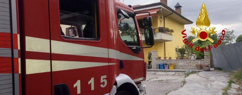 Esplosione in un'abitazione di Montemiletto, due feriti