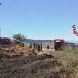 VIDEO / Incendio a Montecalvo Irpino: in supporto anche i gruppi operativi speciali