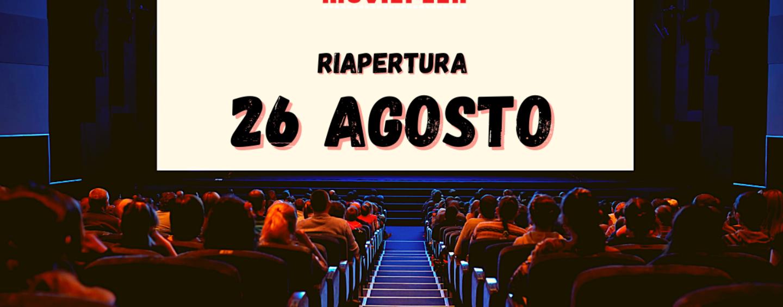 """Mercogliano, mercoledì 26 agosto riapre il """"Movieplex"""""""