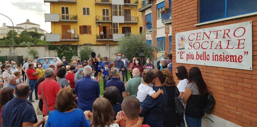 """FOTO / Benevento, da ieri 40 cittadini disabili hanno di nuovo una """"casa"""""""