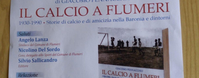 """""""Il calcio a Flumeri"""". Il professore Pennacchio rievoca storie di sport e amicizia dal 1930"""