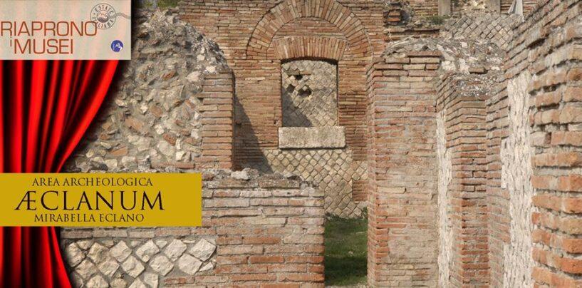 Mirabella Eclano, riapre ai visitatori il Parco Archeologico