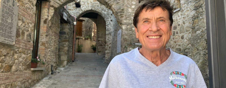 """FOTO / Metti Gianni Morandi in Irpinia un giorno di mezza estate: """"Quaglietta un posto magico"""""""