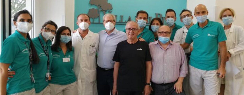 Sanseverino: torna a casa dopo più di 100 giorni di cure