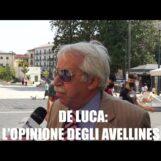 Video/De Luca riconfermato presidente della Regione, l'opinione degli avellinesi