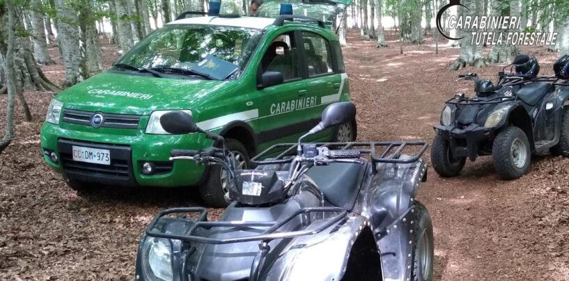 Bagnoli Irpino, organizzava escursioni in Quad senza autorizzazioni: 40enne nei guai