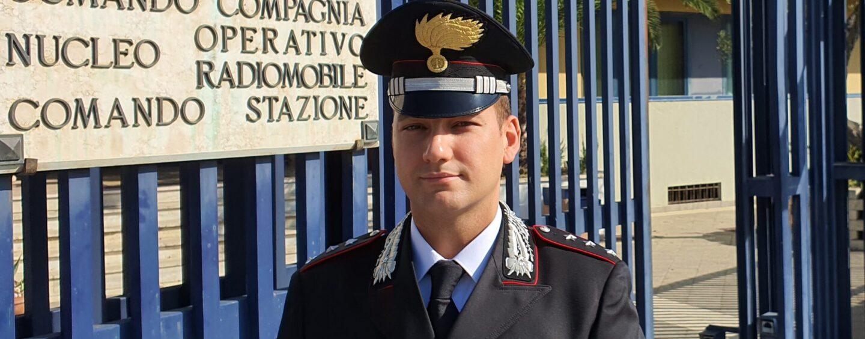 Avellino, nuovo comandante alla compagnia dei carabinieri: il capitano Fabio Iapichino