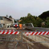 Video/Maltempo in Irpinia, chiusa una strada ad Atripalda