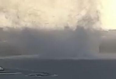 Tromba d'aria a Salerno: danni e disagi alla viabilità
