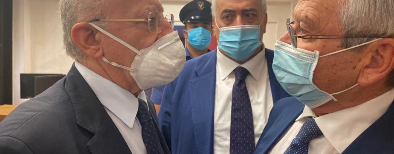 """Confronto De Luca-Panza: """"riattivare gli ospedali territoriali"""""""