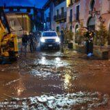 FOTO E VIDEO / Il fiume di fango a Monteforte Irpino