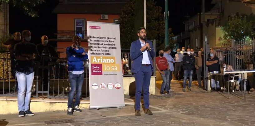 Ariano Irpino, continua il tour elettorale di Franza