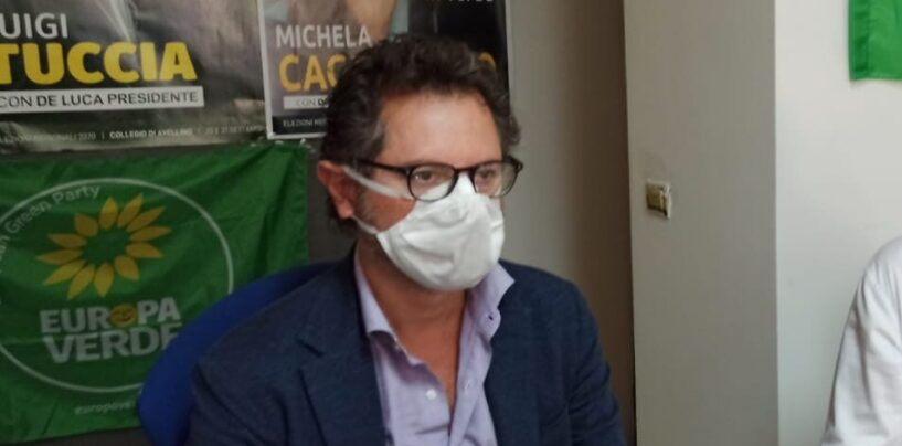 Europa Verde, il consigliere regionale Borrelli mercoledì ad Avellino