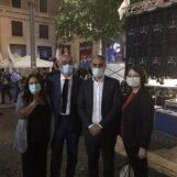 VIDEO/ Regionali, i candidati irpini sul palco di Napoli con i big M5S