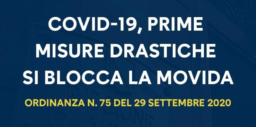 Covid Campania: la stretta di De Luca sulla movida, ecco l'ordinanza