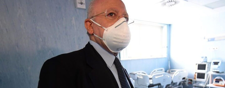"Coronavirus, De Luca: ""Indispensabile decidere subito lockdown"""