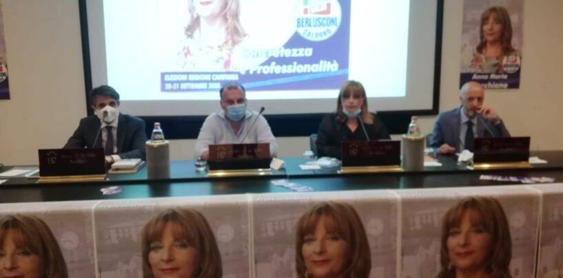"""FOTO / """"Basta con le promesse di lavoro pre-elettorali, l'Irpinia deve voltare pagina"""". Le bordate di Martusciello. Anche a Biancardi"""