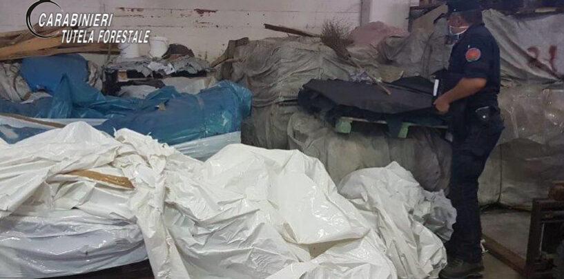 Inquinamento Torrente Solofrana: sequestrata una conceria e denunciate sei persone
