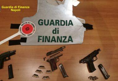 VIDEO/ Guardia di Finanza, sequestrate armi e munizioni a Ponticelli