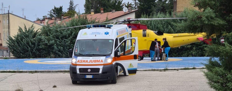 Incidente sul lavoro a Lacedonia