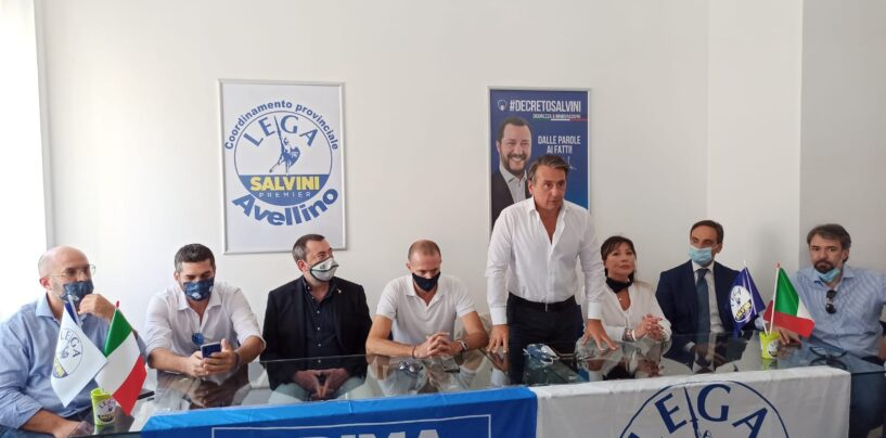 """FOTO / """"De Luca è solo un bluff, la Lega cambierà la Campania con i fatti"""". Regionali, parla Grassi. E D'Agostino: """"Basta votare sempre le stesse persone"""""""