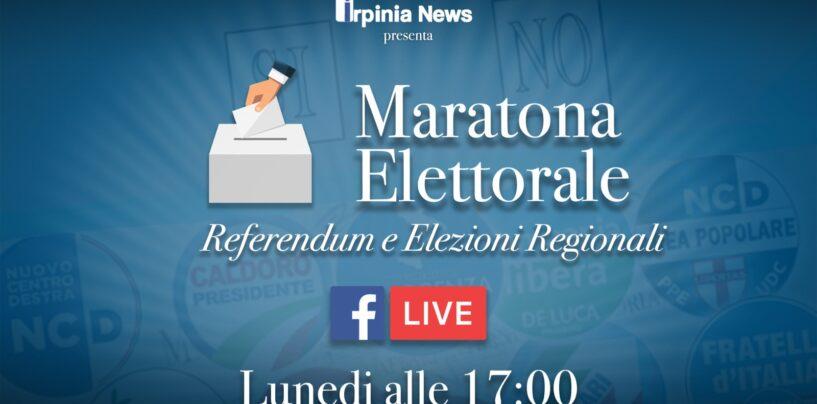 """Election day, lunedì dalle 17 la """"maratona"""" di Irpinia News con aggiornamenti in diretta. Domani collegamenti dai seggi"""