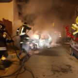 Baiano: in fiamme due autovetture