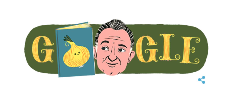 Cento anni fa nasceva Gianni Rodari. Anche Google lo omaggia