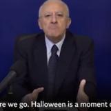 """Halloween festa stupida"", De Luca finisce sull'Indipendent"