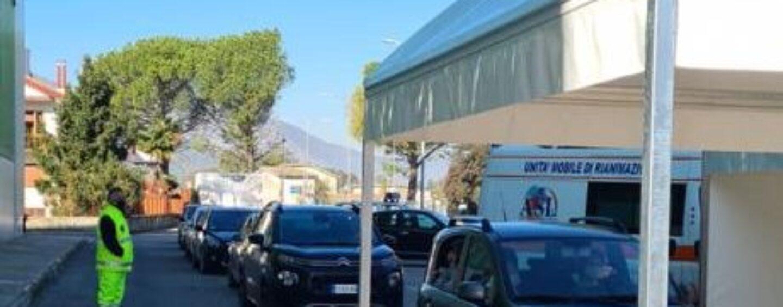 Screening scuola, Drive-in Irpinia: 786 tamponi effettuati