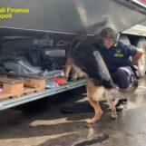 VIDEO/ Droga sul camion al porto di Napoli: due persone in manette