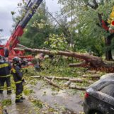 FOTO / Maltempo in Irpinia: più di 40 gli interventi dei vigili del Fuoco