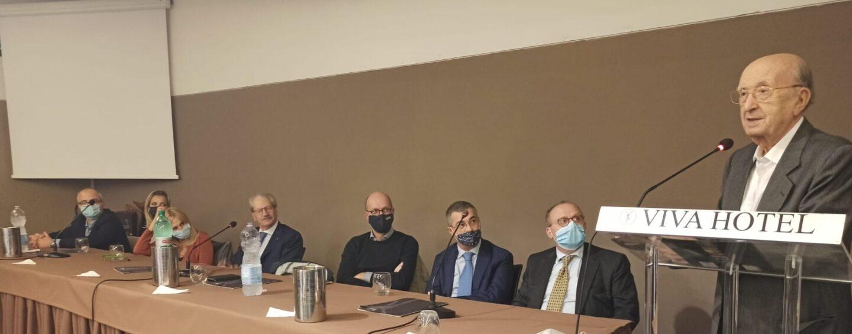 """FOTO / """"Noi non facciamo politica per interessi, siamo il terzo movimento in Campania e daremo una mano a De Luca"""". De Mita e i Popolari lanciano la sfida"""