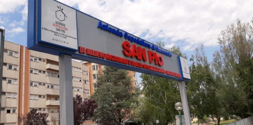 Covid-19, Ospedale San Pio di Benevento: sei decessi in 24 ore