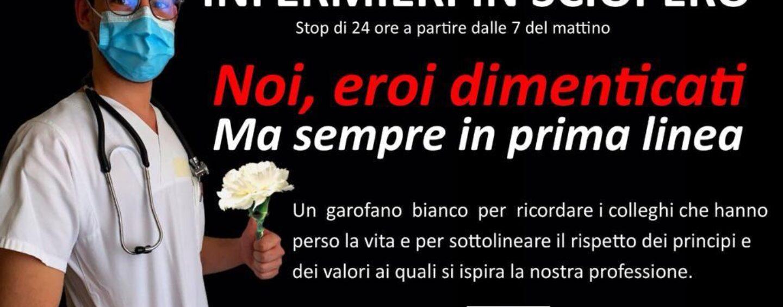 Il 2 novembre infermieri in sciopero anche ad Avellino