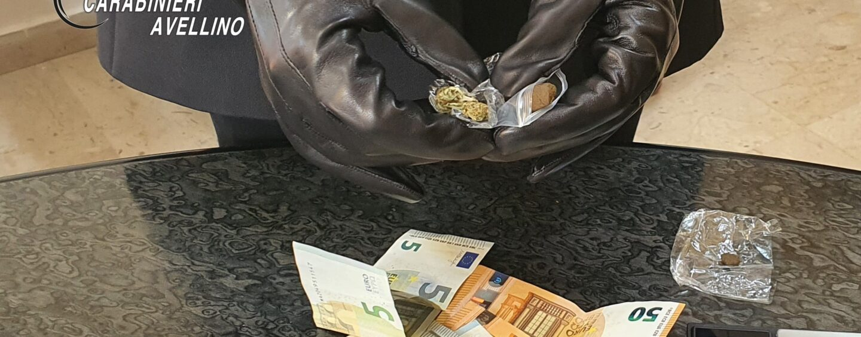 Pratola Serra: minorenne denunciato perchè in possesso di sostanze stupefacenti