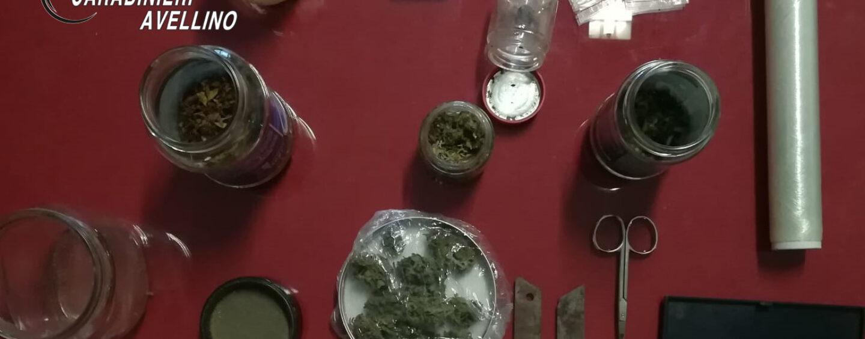 Serino, 36enne in possesso di sostanze stupefacenti: arrestato per spaccio