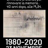 Grottaminarda: un minuto di silenzio nelle case per ricordare il terremoto dell'80