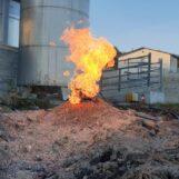 Scavano un pozzo ma trovano le fiamme: è accaduto a Lioni