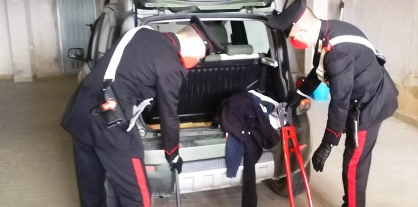 Benevento, banda di ladri e rapinatori intercettata e braccata dai Carabinieri