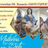 Montaperto di Montemiletto, ritorna dal restauro la Madonna della Pietà