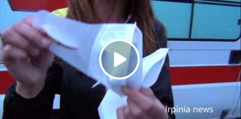 """VIDEO/ Operatori 118 Avellino: """"L'Asl ci fa usare mascherine egiziane e protezioni non a norma, siamo a rischio Covid"""""""