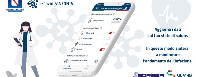 App e-Covid Sinfonia, risultati di test e tamponi in tempo reale sul proprio smartphone