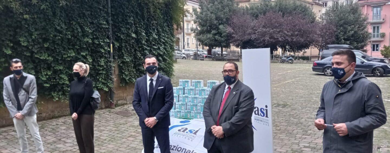 L'Asi dona 5.000 mascherine alla città, il sindaco ringrazia
