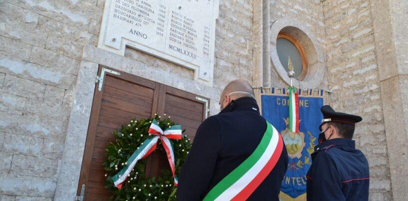 FOTO / Terremoto '80, il sindaco di Montella scrive ai familiari delle vittime