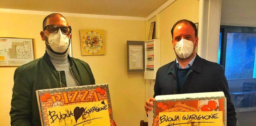 Baiano, pizze gratis alle famiglie in isolamento a causa del Covid