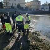 FOTO/ Alluvione Crotone, dall'Irpinia i volontari della Protezione Civile